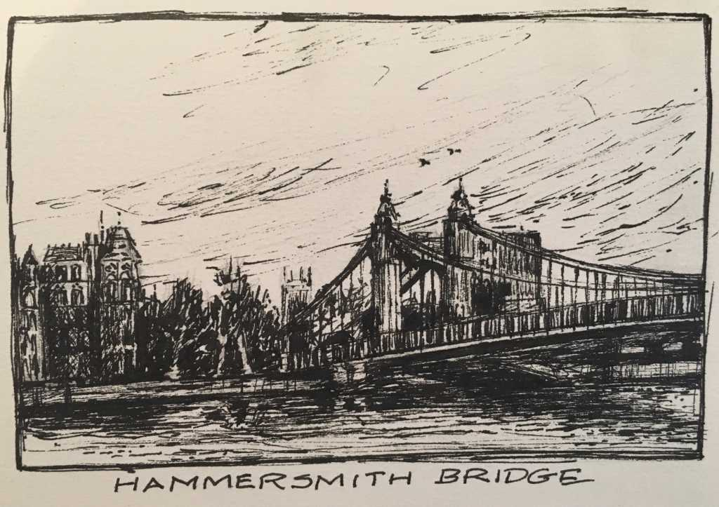Day 3. Hammersmith Bridge to Richmond. 12 miles