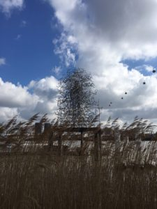 Anthony Gormley's fabulous entrapped man sculpture