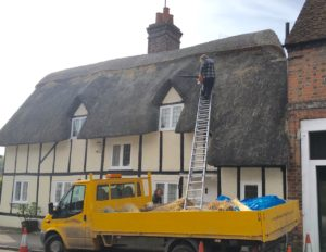 Thatching .. alive and well in the 21st century