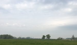 Didcot in the distance