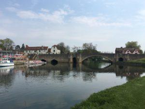 The bridge at Abingdon