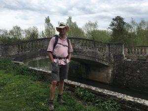 Louche chap at bridge