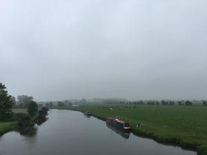 A soft grey morning