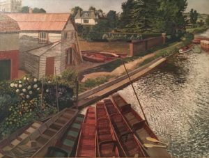 Stanley Spencer's view of Cookham