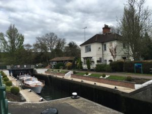 The lock at Marlow